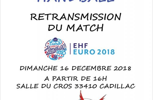 RETRANSMISSION FINALE COUPE D'EUROPE FEMININE