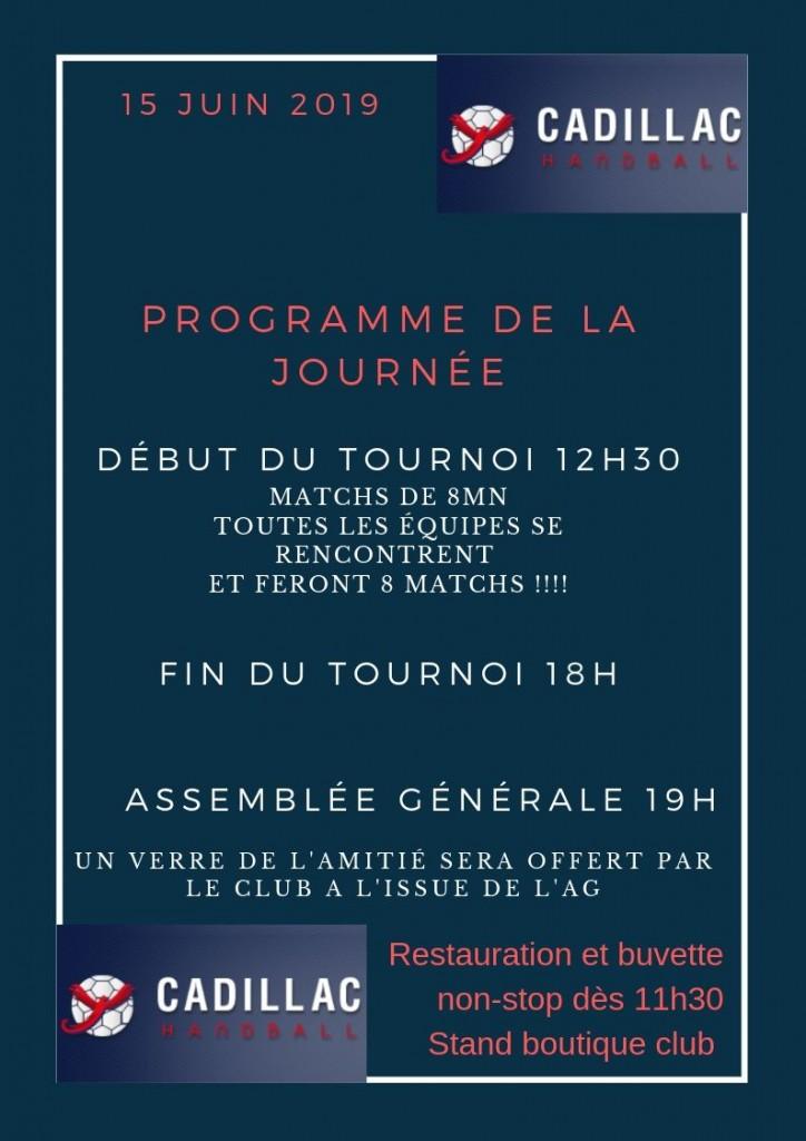 TOURNOI + ASSEMBLEE GENERALE @ Gymnase des Baries